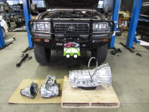 ランクル80 AT オートマ 修理 オーバーホール