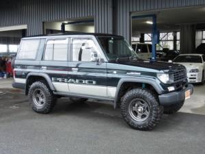 KZJ78 78プラド 故障 修理 4WD リフトアップ リフトUP