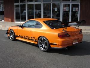 S15 デモカー デモ車 シルビア スカイライン GTR アンダーパネル サーキット タイムアタック  オートポリス