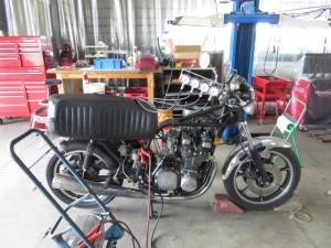 Z1 Z2 KZ MK2 FX Z1000 旧車 レストア キャブレター 修理